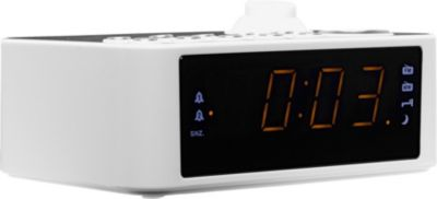 Radio Réveil Muse M-178 P Blanc