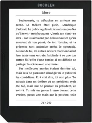 Liseuse Ebook Bookeen Cybook Muse Frontlight