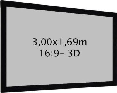kimex cadre 3 00 x 1 69 m 16 9 toile 3d ecran de. Black Bedroom Furniture Sets. Home Design Ideas