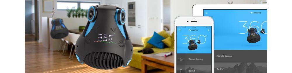Caméra 360 Giroptic