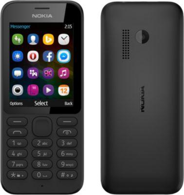 Téléphone Portable Nokia Nokia 215 Noir Ds Ls (blister)