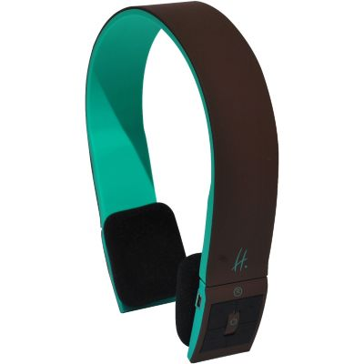 Casque HALTERREGO Bluetooth marron/vert