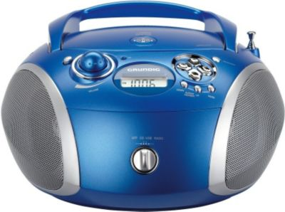 Radio Cd Grundig Rcd1445 Bleu
