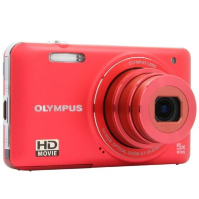 APN OLYMPUS Pack VG-160 rouge + Etui
