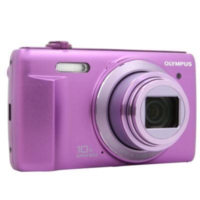 APN OLYMPUS Pack D755 violet + étui + Ca