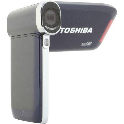 Camescope TOSHIBA Pack P20 bleu nuit + S