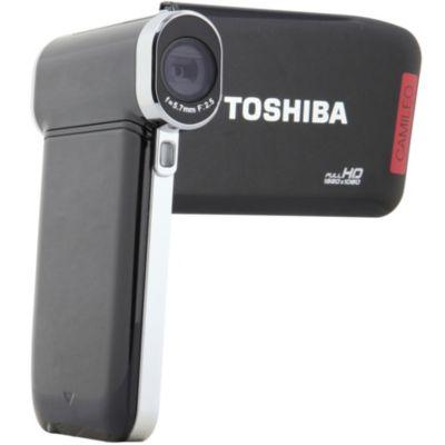 Camescope TOSHIBA Pack P20 noir + SD 4Go + Etui LOWEPRO SANTIAGO DV35 NOIR