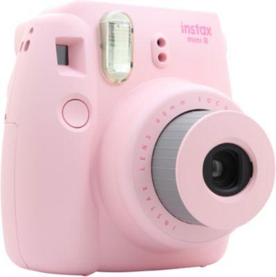 Fuji instax mini 8 rose appareil photo compact boulanger - Appareil photo compact boulanger ...