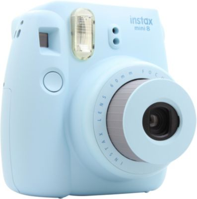 fuji instax mini 8 bleu appareil photo compact boulanger. Black Bedroom Furniture Sets. Home Design Ideas