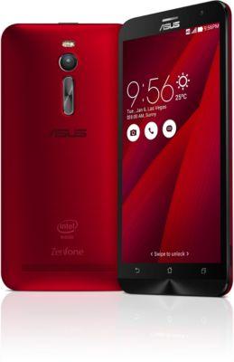 Smartphone Asus Zenfone 2 5.5′ 16 Go Rouge