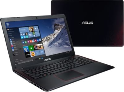 PC Gamer ASUS W10 R510JX-DM225T noir