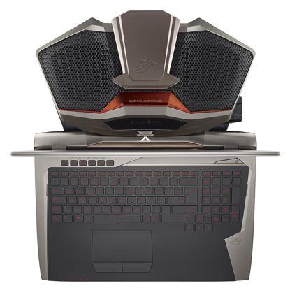 Pc portable gamer w10 rog gx700vo gc009t gris metal asus - Ordinateur portable asus boulanger ...