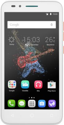 Smartphone Alcatel One Touch Go Play Blanc/orange