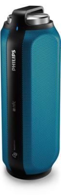 Enceinte Nomade Philips Bt6600 Blue Steel Metallic