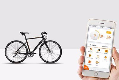 Vélo connecté COOKEE Smart Bike