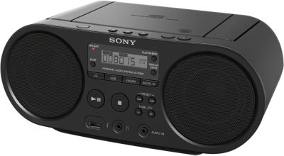 Radio Cd Sony Zs-ps50 Noir