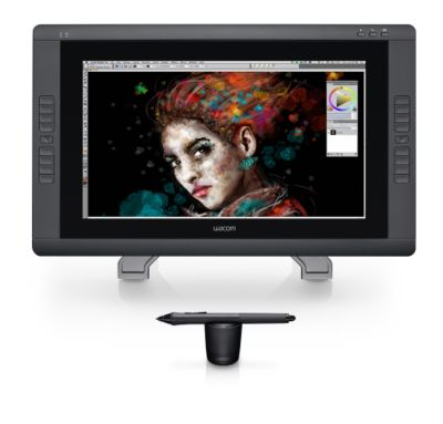 Tablette graphique Wacom Cintiq 22HD DTH Touch Creative Pen Displ