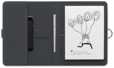 Support Wacom Bamboo Spark connecté + stylo bille