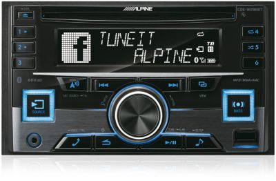 Autoradio CD ALPINE CDE-W296BT