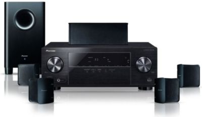 Pack Home Cinema PIONEER HTP105 NOIR
