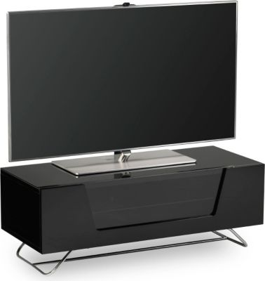 alphason chronium noir meuble tv boulanger. Black Bedroom Furniture Sets. Home Design Ideas