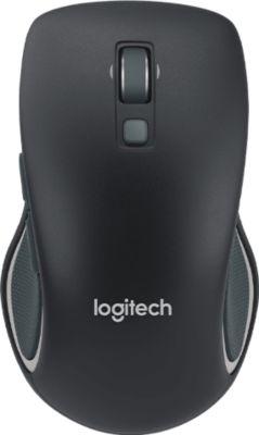 Souris sans fil Logitech M560 Black + Tapis de souris Essentielb avec repose-poignet