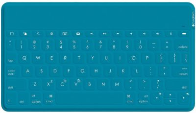 Clavier tablette LOGITECH Keys to go Bleu pour iPad