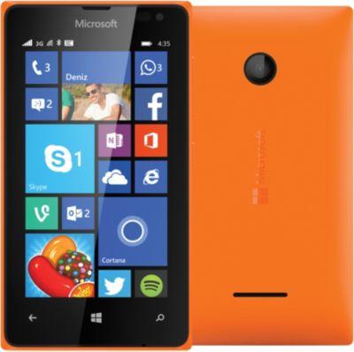 Smartphone MICROSOFT Lumia 435 Orange Double Sim