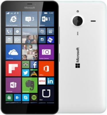 Microsoft Lumia 640 XL LTE Dual Sim – blanc brillant – 4G HSPA+ – 8 Go – GSM – téléphone intelligent Windows
