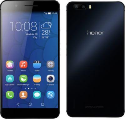 Honor 6 Plus – noir – 4G LTE – 32 Go – GSM – téléphone intelligent Android