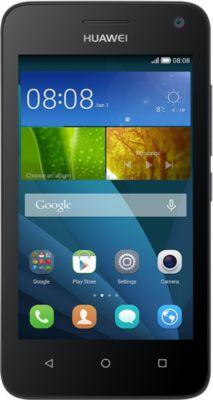Huawei Ascend Y360 – noir – 3G HSPA+ – 4 Go – GSM – téléphone intelligent Android