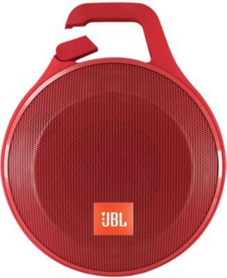 Enceinte nomade JBL Clip Plus rouge