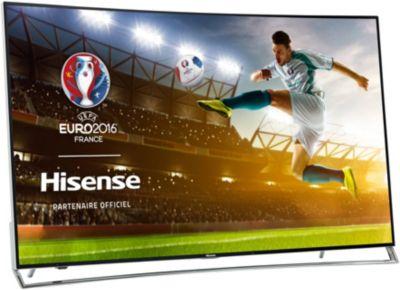 TV 4K UHD HISENSE LTDN65XT910 ULED 4K INCURVE 1000Hz SMR