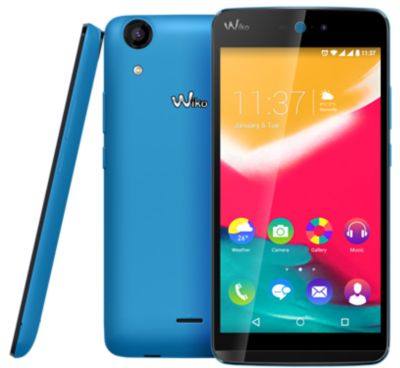 Téléphone Portable Wiko Rainbow Jam 4g Bleu