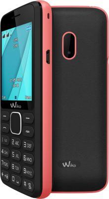 Téléphone Portable Wiko Lubi 4 Noir/rose Ls