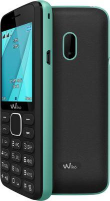 Téléphone Portable Wiko Lubi 4 Noir/menthe Ls