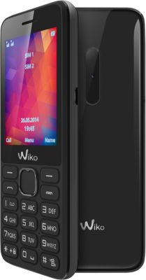 Téléphone Portable Wiko Riff 2 Noir Ls