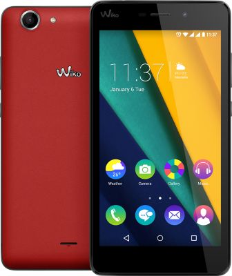 Smartphone Wiko Pulp Fab 4g Rouge Flashy