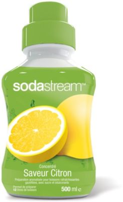 Concentré SODASTREAM CITRON 500ml