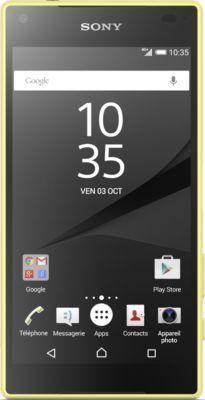 Smartphone Sony Xperia Z5 Compact Jaune