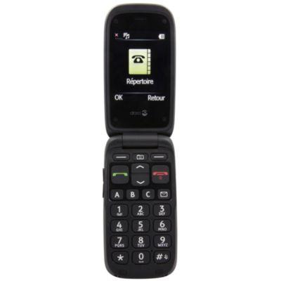 Téléphone Portable Doro Phoneeasy 612 Noir/noir