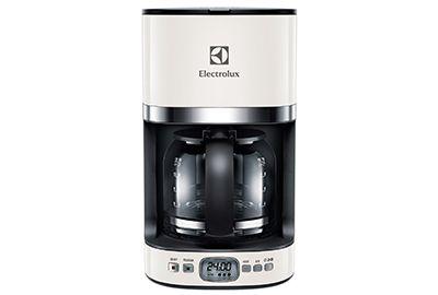 Cafetière ELECTROLUX EKF7500W blanc acier