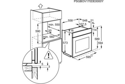 Four Pyro ELECTROLUX EOF6P40VX0