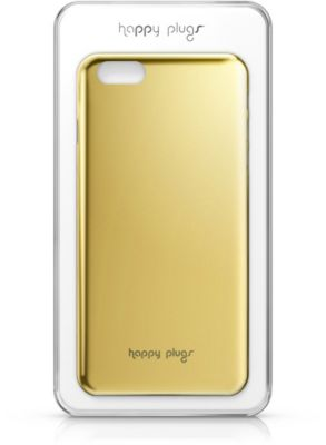 happy plugs deluxe iphone 6 plus gold accessoire iphone. Black Bedroom Furniture Sets. Home Design Ideas