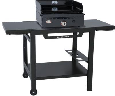 Cuisine exterieure accessoire barbecue plancha landmann - Table a langer roulante ...