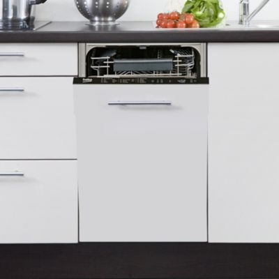 beko pdis26020 lave vaisselle encastrable 45 cm boulanger. Black Bedroom Furniture Sets. Home Design Ideas