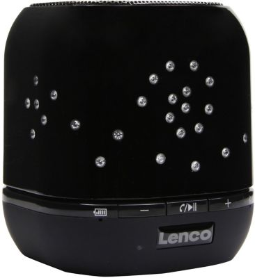 Enceinte Lenco Btsw-1 City Romance Black