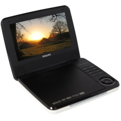 Philips pd7030 blanc noir lecteur dvd portable boulanger - Lecteur dvd voiture boulanger ...