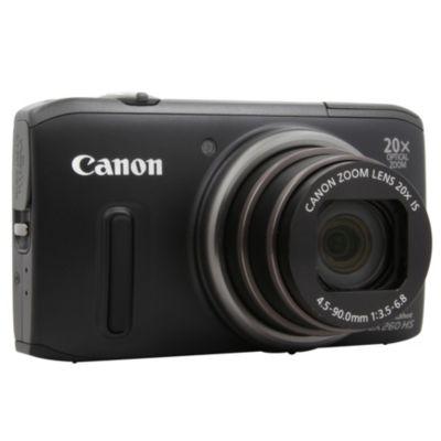 APN CANON PowerShot SX260HS Noir