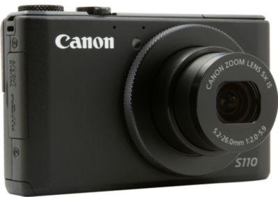 Compact CANON PowerShot S110 noir